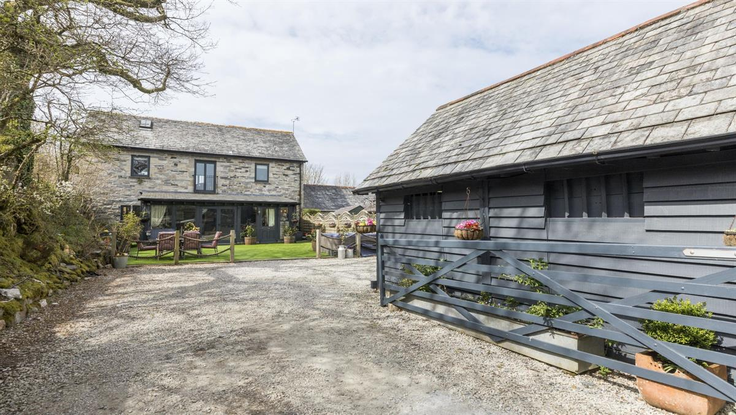 Lodge Court Barn, Lanteglos, Camelford